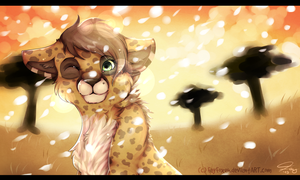 Snow in the savanna by Fayven