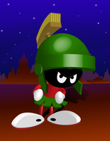 Marvin the Martian by itswithaKAY