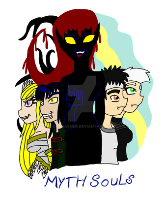 Myth Souls Cover by CatDasher