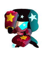 Garnet: Just One on Two by abstractmouse