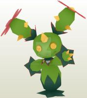 Maractus papercraft preview by javierini
