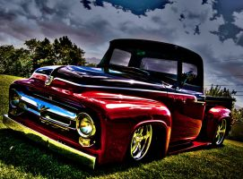 HDR Old Ford by PapaGue