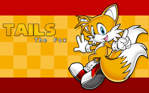 Tails The Fox Wallpaper by darkfailure