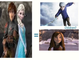 Hiccup and Elsa children by NightGirl45