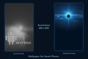 androids - Smart Phone Background by rvc-2011