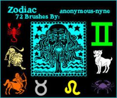 Zodiac PSP9 Brushes by anonymous-nyne