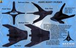Asari Heavy Cruiser Nefrane class Overview by Euderion