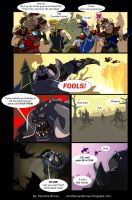 Warcraft comic by goamerica