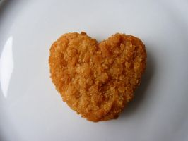 I Heart Chicken Nuggets by thelongestyear