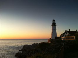 Portland Head Light by EvaPolly