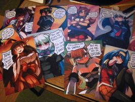 arcana heart cards by woofycakes