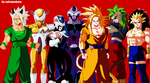 Tributo al Fanart dragon ball by salvamakoto