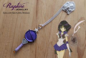 Sailor Saturn Wand Pendant by RaptureJewelry