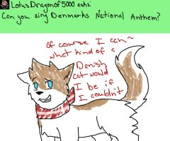 Ask Neko!Nordics: Denmarkcat #9 by TidalWaveKitty