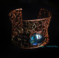 Copper cuff by OlgaC