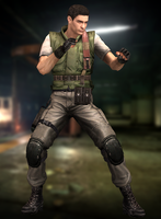 Chris Redfield(S.T.A.R.S.) Resident Evil HD by XKammyX