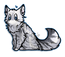 :PC2: Bluefire-kitteh by Dawnneh