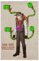 USM: DOC OCK HOLLIDAY with Blaster Pack by Jerome-K-Moore