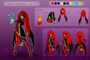 Orela .:New Reference Sheet:. by Coraleana