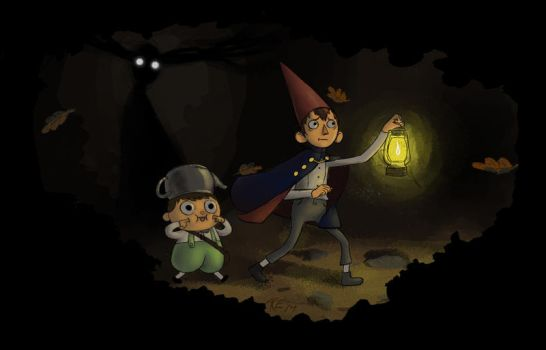 Over The Garden Wall by Audrey-Ellis