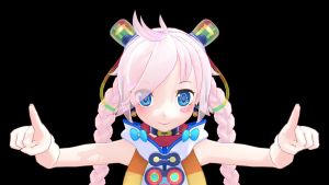 [MMD] VOCALOID Rana45110's First Pic!! by iMACobra