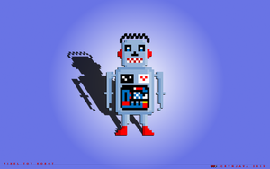 Pixel Toy Robot by crvnjava67