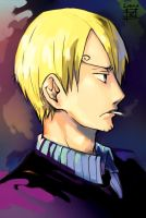 frowning - Sanji's version by lorna-ka