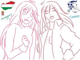 Our fav countries by Emisama