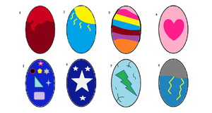 Surprise egg adopts! by star4567980