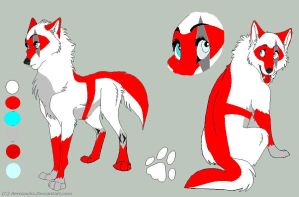 TFWolves OC Electra Ref by TFP-Ratchet123