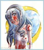 Mary .bloody doll. by Cleox