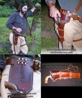 Wild West Gun Holster by Steampunked-Out