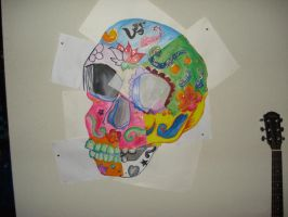 mexican skull by thatgem