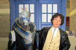 The Doctor and Garrus by JZLobo