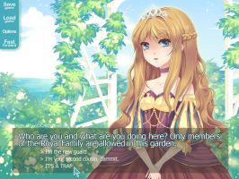 Fake VN Screenshot by ofSkySociety