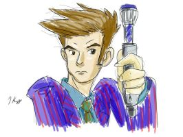 Doctor Tennant by KnoppGraphics