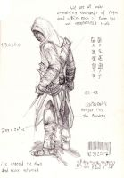 assassin's creed Altair by Namingway-Regret