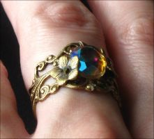 Twilight Rainbow Ring by JuleeMClark