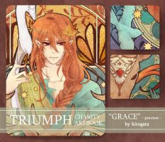 Triumph Art Book Preview: Grace by hitogata