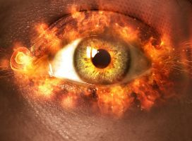 Eye of FIRE by lorency