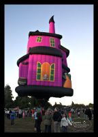 Nightmare House Balloon by Paigesmum