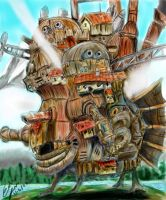 Howl's Moving Castle by ameldaluver