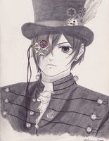Steampunk Earl by Shinigami-no-Miko