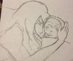 Mother and Son by EarlyMorningWishes
