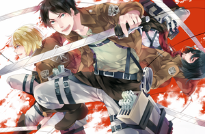Shingeki No Kyojin by rhymebox