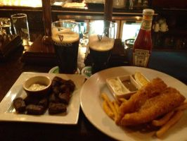 Guinness and Food by nosugarjustanger