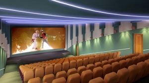 Cinema project2 by Ultrarender