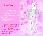 'Couture 1' Free Base Pack by ashia2256