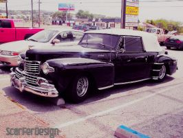 Clasic Car l 1942 Lincoln Continental convertible by scarferdesign