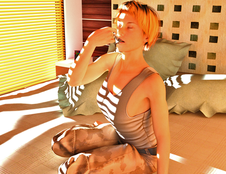 Katie's Day Off by 3D-Giantess-Studios